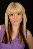 Portrait of blond woman Stock Image