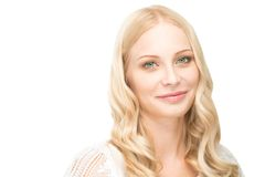 Blond woman Royalty Free Stock Photos