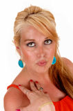 Portrait of blond woman. Stock Photography