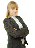 Portrait of blonde Stock Photography
