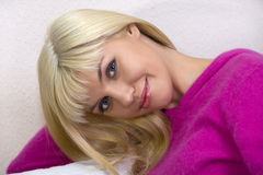 Portrait of blonde Royalty Free Stock Images