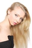 Portrait of the blonde. Royalty Free Stock Photography