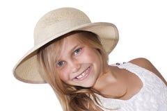 Portrait of blonde girl Stock Image