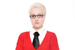 Portrait of a blondie Stock Photography