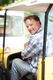 Portrait of a blue collar worker Stock Photos