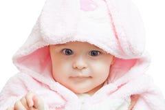 Portrait of blue-eyed baby Stock Photo