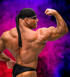 Portrait of bodybuilder Royalty Free Stock Photo
