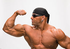 Portrait of bodybuilder Royalty Free Stock Images