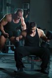 Portrait of bodybuilders Royalty Free Stock Photos