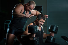 Portrait of bodybuilders Stock Photo