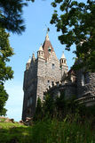 Portrait of boldt castle Royalty Free Stock Photo