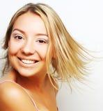 Portrait of a bond girl Royalty Free Stock Photos