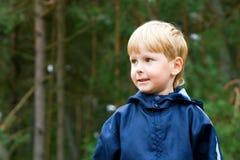 Portrait of a Boy. Closeup portrait of a little attractive boy Stock Photo