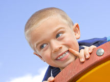 Portrait boy Stock Photography