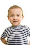 Portrait of boy. On white background Stock Images