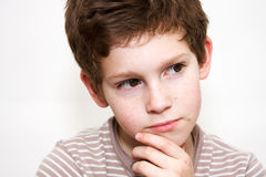 Portrait Of A Boy Stock Image