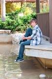 Portrait of a boy. Royalty Free Stock Photos
