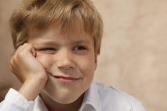 Portrait of the boy Stock Photo