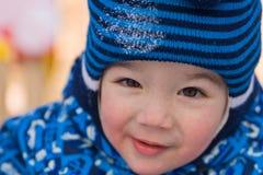 Portrait of the boy stock image
