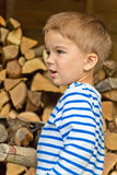 Portrait of the boy royalty free stock photos