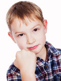 Portrait of boy. Stock Photos