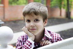 Portrait of the boy Stock Photography