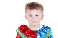 Portrait of boy in carnival suit Stock Photography