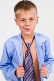Portrait of a Boy. Close-up Stock Images