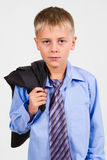 Portrait of a Boy. Close-up Royalty Free Stock Images