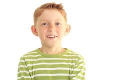 Portrait of a boy Stock Photos