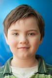 Portrait of a boy closeup stock photo