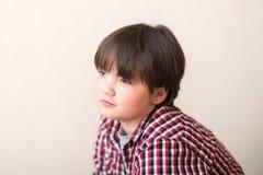 Portrait of a boy stock image