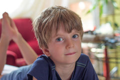 Portrait of a boy Royalty Free Stock Photos