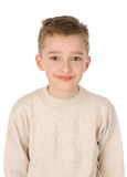 Portrait of a boy smiling stock images