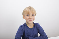 Portrait of boy smiling Royalty Free Stock Images