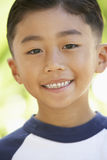 Portrait Of Boy Smiling Royalty Free Stock Photography