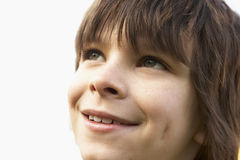 Portrait Of Boy Smiling Stock Image
