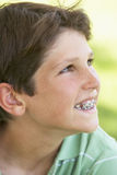 Portrait Of Boy Smiling Royalty Free Stock Photo