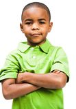 Portrait of boy standing Royalty Free Stock Images