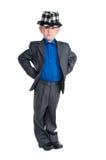 Portrait of a boy in suit Stock Photo