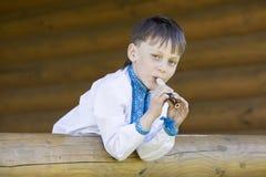 Portrait of a boy Stock Photo