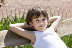Portrait of a boy Royalty Free Stock Photos