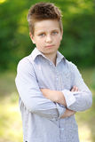 Portrait of a boy on vacation Royalty Free Stock Photos