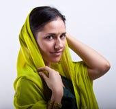 Portrait with bracelet Stock Photography