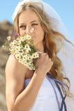 Portrait of the bride Stock Image