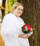 Portrait of bride Stock Images