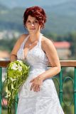 Portrait of the bride Stock Photography