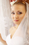 Portrait of  bride Stock Photo