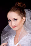 Portrait of the bride Royalty Free Stock Photography