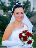 Portrait of the bride Stock Image